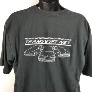 Suzuki Swift Embroidered Car T Shirt Large
